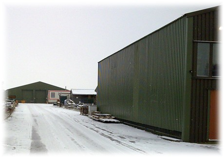 Snow to christen the new factory in 2008