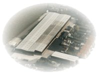 The factory from the air circa 2001